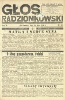 Głos Radzionkowski, 1936, R. 6, nr 229