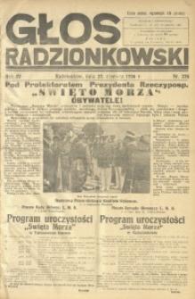 Głos Radzionkowski, 1936, R. 6, nr 235