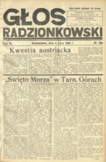 Głos Radzionkowski, 1936, R. 6, nr 236