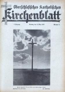 Oberschlesisches Katholisches Kirchenblatt, 1937, Jg. 2, Nr. 11
