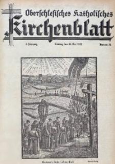 Oberschlesisches Katholisches Kirchenblatt, 1937, Jg. 2, Nr. 22