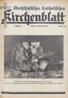 Oberschlesisches Katholisches Kirchenblatt, 1937, Jg. 2, Nr. 35
