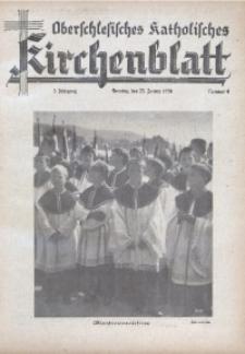 Oberschlesisches Katholisches Kirchenblatt, 1938, Jg. 3, Nr. 4