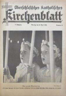 Oberschlesisches Katholisches Kirchenblatt, 1938, Jg. 3, Nr. 14