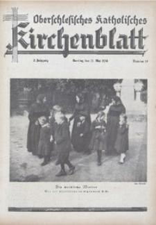 Oberschlesisches Katholisches Kirchenblatt, 1938, Jg. 3, Nr. 17