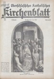Oberschlesisches Katholisches Kirchenblatt, 1938, Jg. 3, Nr. 20