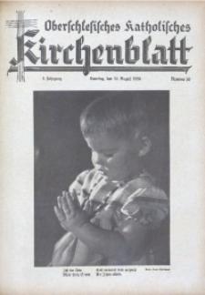 Oberschlesisches Katholisches Kirchenblatt, 1938, Jg. 3, Nr. 30