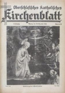 Oberschlesisches Katholisches Kirchenblatt, 1938, Jg. 3, Nr. 49