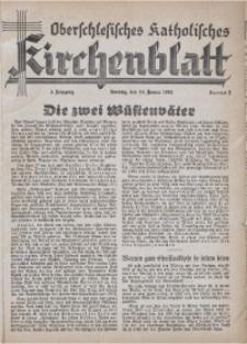Oberschlesisches Katholisches Kirchenblatt, 1940, Jg. 5, Nr. 2