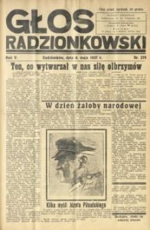 Głos Radzionkowski, 1937, R. 5 [włśc. 7], nr 279