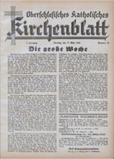 Oberschlesisches Katholisches Kirchenblatt, 1940, Jg. 5, Nr. 11