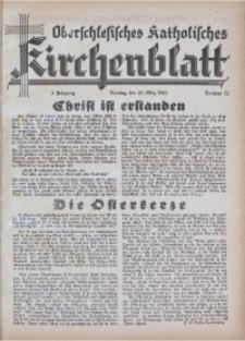 Oberschlesisches Katholisches Kirchenblatt, 1940, Jg. 5, Nr. 12