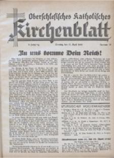Oberschlesisches Katholisches Kirchenblatt, 1940, Jg. 5, Nr. 16