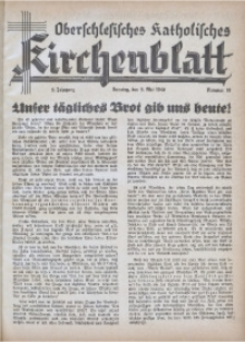 Oberschlesisches Katholisches Kirchenblatt, 1940, Jg. 5, Nr. 18