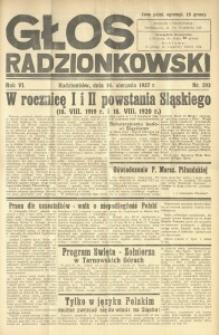 Głos Radzionkowski, 1937, R. 6 [włśc. 7], nr 293