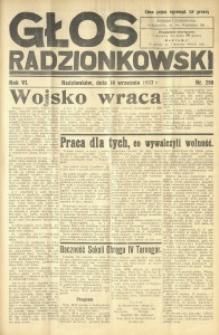Głos Radzionkowski, 1937, R. 6 [włśc. 7], nr 298