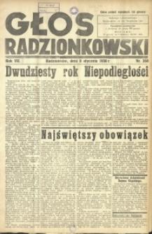 Głos Radzionkowski, 1938, R. 7 [włśc. 8], nr 359