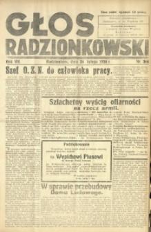 Głos Radzionkowski, 1938, R. 7 [włśc. 8], nr 366