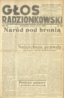 Głos Radzionkowski, 1938, R. 7 [włśc. 8], nr 368