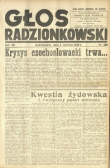 Głos Radzionkowski, 1938, R. 7 [włśc. 8], nr 380