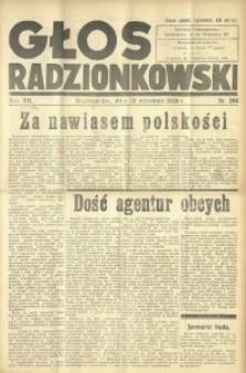 Głos Radzionkowski, 1938, R. 7 [włśc. 8], nr 394