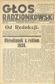 Głos Radzionkowski, 1938, R. 7 [włśc. 8], nr 412
