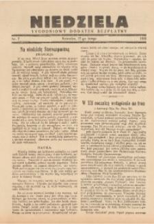 Niedziela, 1935, nr 7