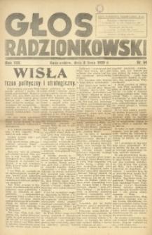 Głos Radzionkowski, 1939, R. 8 [włśc. 9], nr 54