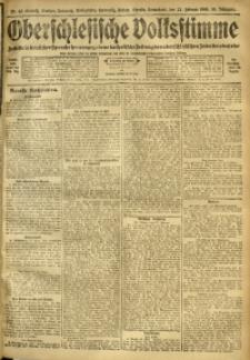 Oberschlesische Volksstimme, 1908, Jg. 34, Nr. 43
