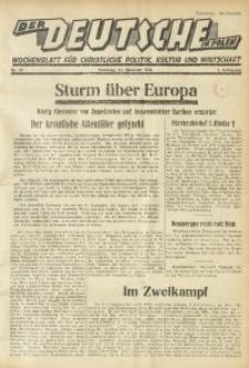 Der Deutsche in Polen, 1934, Jg. 1, nr 37