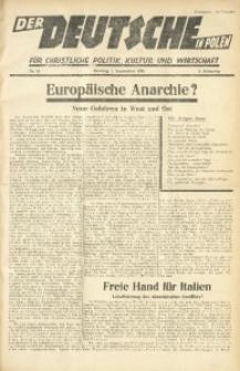 Der Deutsche in Polen, 1935, Jg. 2, nr 35