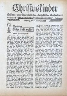 Christuskinder. Beilage zum Oberschlesischen Katholischen Kirchenbaltt, 1936, Jg. 1, Nr. 7