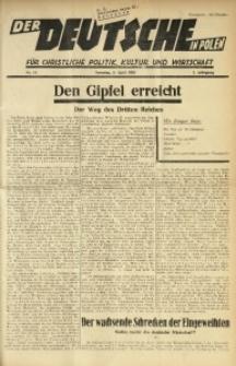 Der Deutsche in Polen, 1936, Jg. 3, nr 14