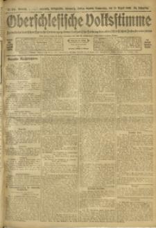 Oberschlesische Volksstimme, 1908, Jg. 34, Nr. 190