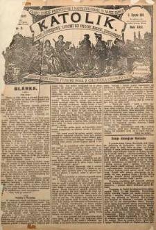 Katolik, 1889, R. 22, nr 3