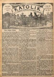Katolik, 1889, R. 22, nr 4
