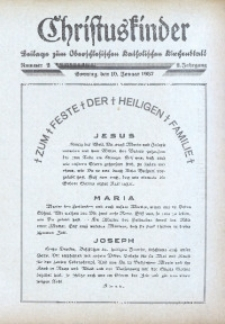 Christuskinder. Beilage zum Oberschlesischen Katholischen Kirchenbaltt, 1937, Jg. 2, Nr. 2