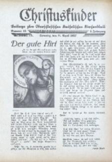 Christuskinder. Beilage zum Oberschlesischen Katholischen Kirchenbaltt, 1937, Jg. 2, Nr. 15
