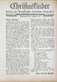 Christuskinder. Beilage zum Oberschlesischen Katholischen Kirchenbaltt, 1937, Jg. 2, Nr. 35