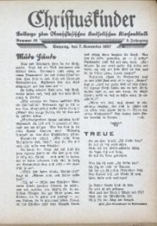Christuskinder. Beilage zum Oberschlesischen Katholischen Kirchenbaltt, 1937, Jg. 2, Nr. 45