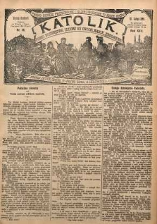 Katolik, 1889, R. 22, nr 16