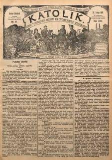 Katolik, 1889, R. 22, nr 17