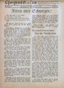 Christuskinder. Beilage zum Oberschlesischen Katholischen Kirchenbaltt, 1940, Jg. 5, Nr. 8