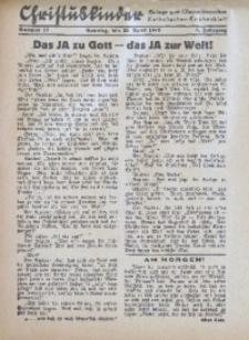 Christuskinder. Beilage zum Oberschlesischen Katholischen Kirchenbaltt, 1940, Jg. 5, Nr. 17