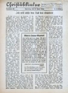 Christuskinder. Beilage zum Oberschlesischen Katholischen Kirchenbaltt, 1940, Jg. 5, Nr. 22