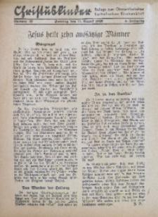 Christuskinder. Beilage zum Oberschlesischen Katholischen Kirchenbaltt, 1940, Jg. 5, Nr. 32