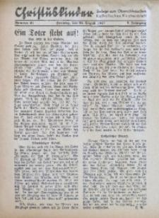 Christuskinder. Beilage zum Oberschlesischen Katholischen Kirchenbaltt, 1940, Jg. 5, Nr. 34