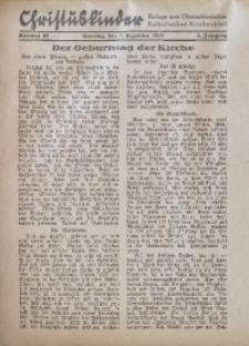 Christuskinder. Beilage zum Oberschlesischen Katholischen Kirchenbaltt, 1940, Jg. 5, Nr. 48