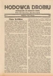 Hodowca Drobiu, 1935, nr 5