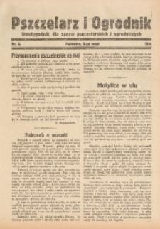 Pszczelarz i Ogrodnik, 1935, nr 3